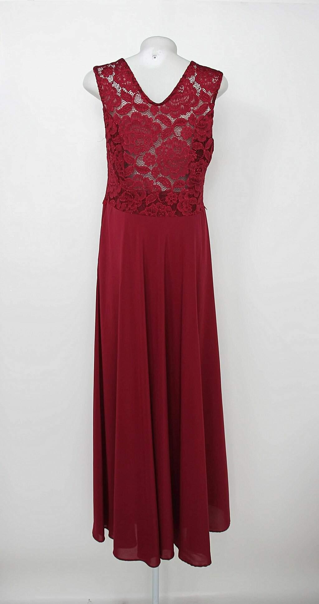 Vestido de Festa feminino azul com Paetê lore - compre por