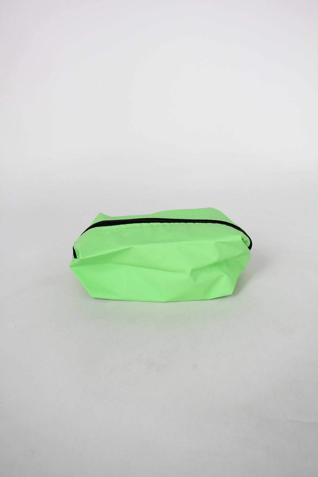 Necessaire Feminina Verde Fluorescente