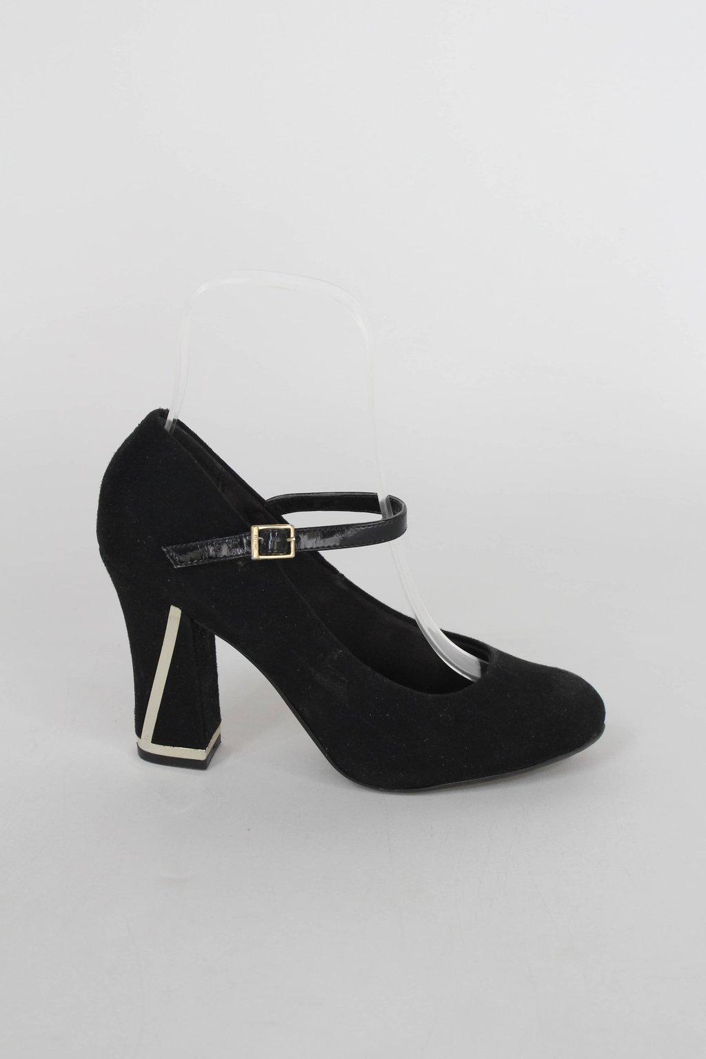 Sapato vizzano feminino preto