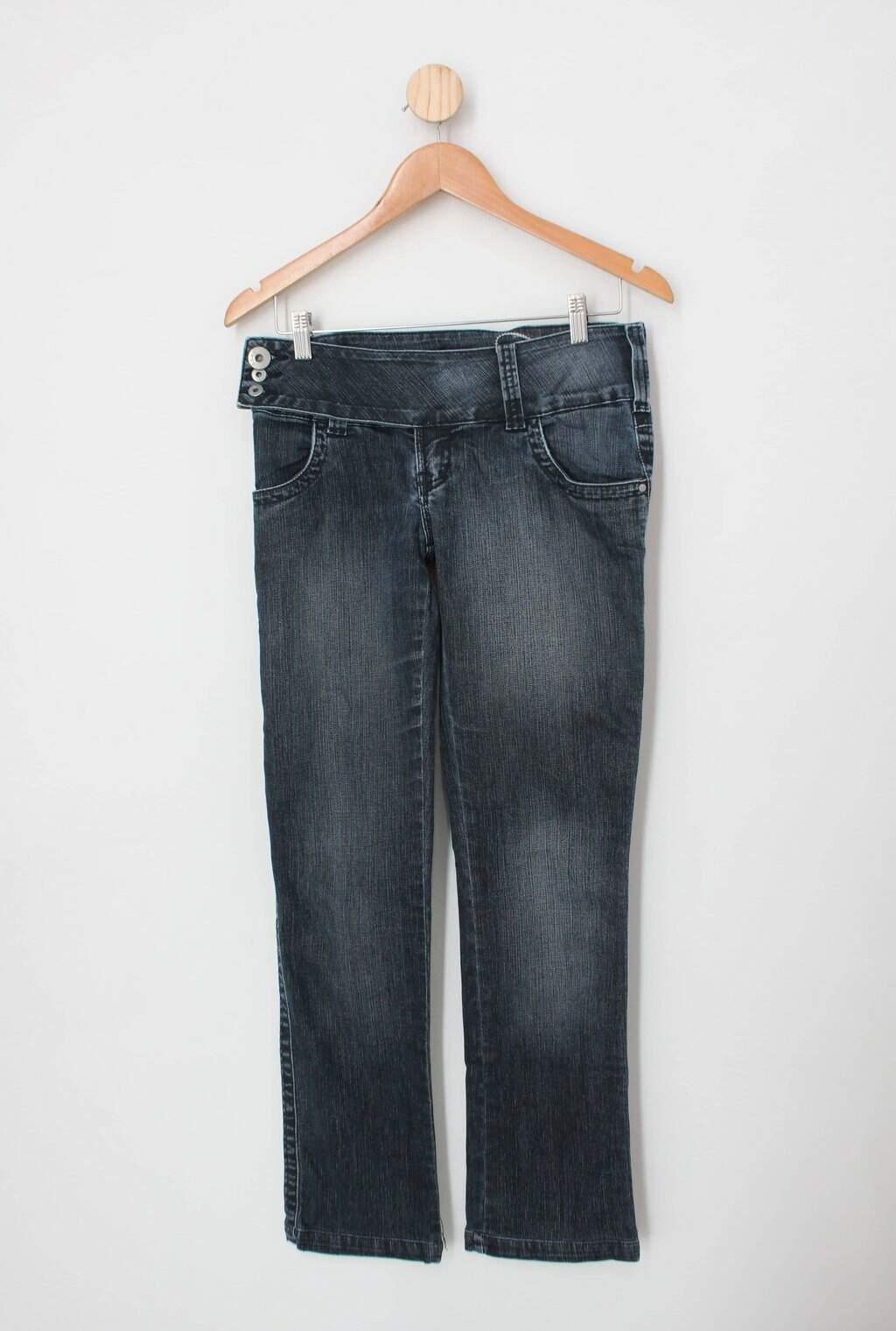 Calça Jeans Feat Feminina Azul
