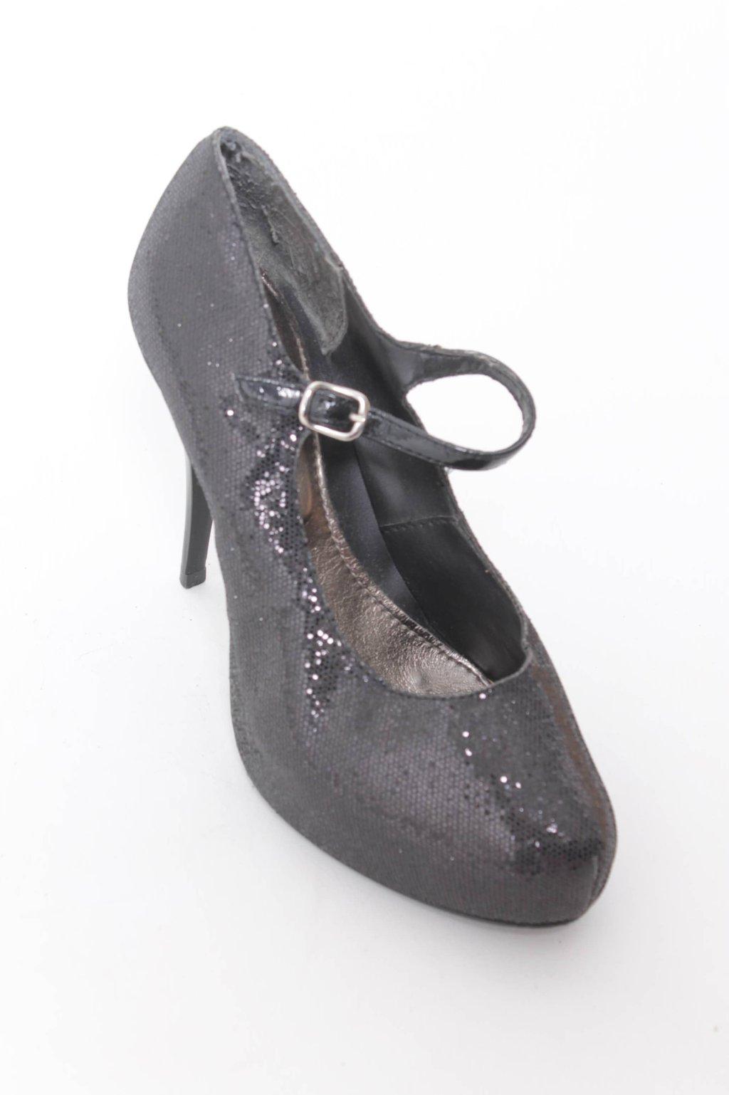 Sapato Preto Brilhante