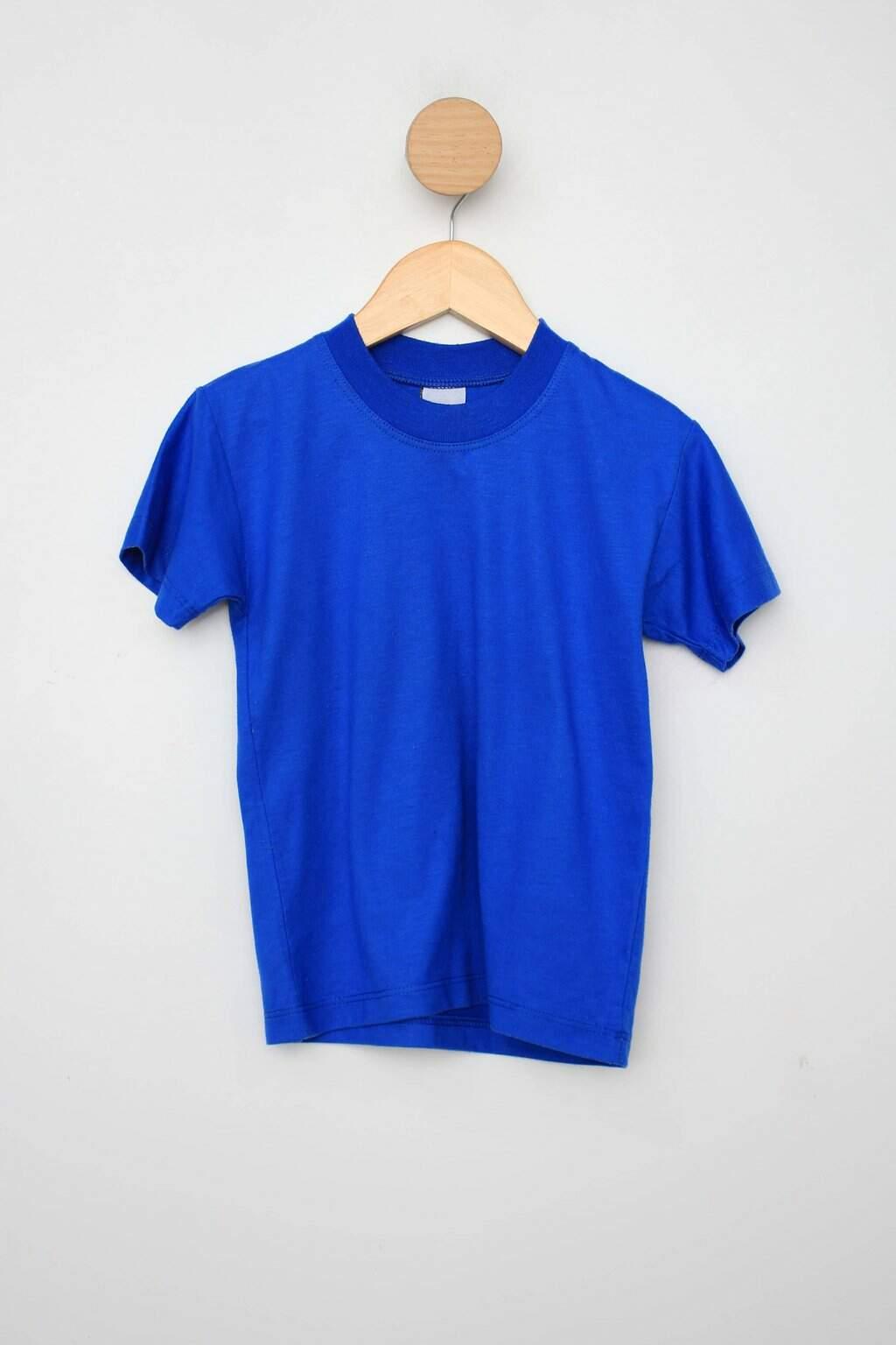 Camiseta Infantil Az Azul