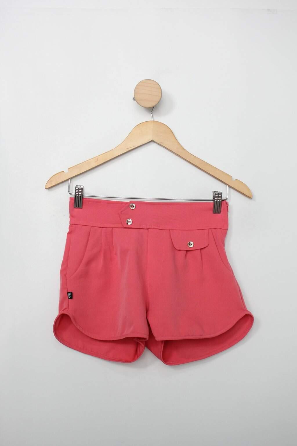 Shorts Infantil Rosa
