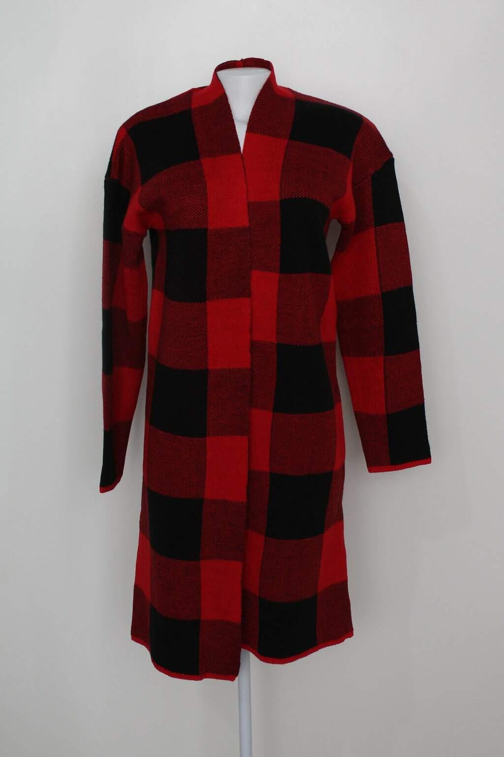 Cardigan Cotton On Feminino Vermelho Estampado