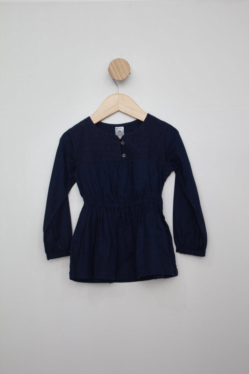 Vestido Infantil Carter´s Azul