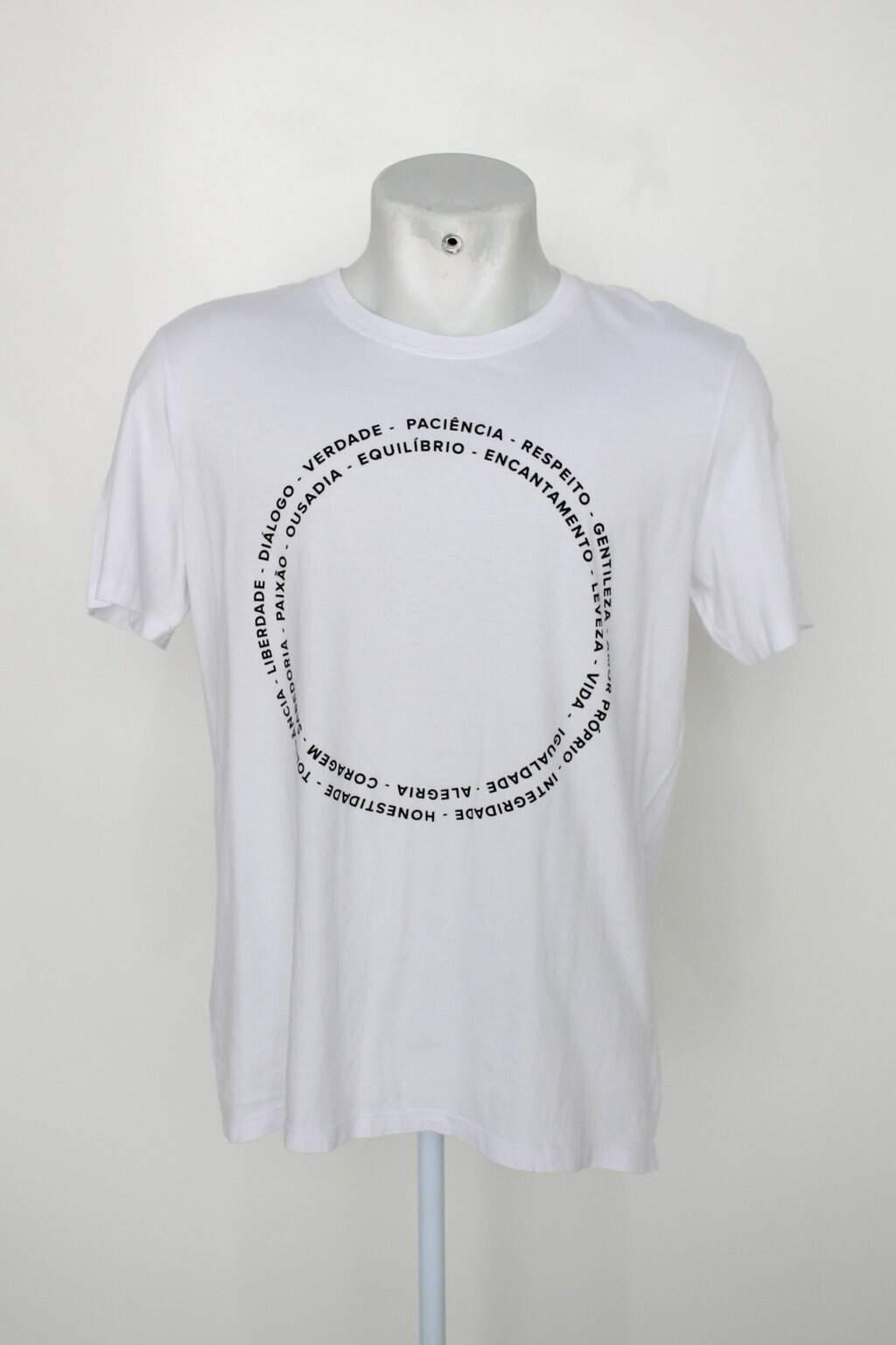 Camiseta Hering Masculina Branca