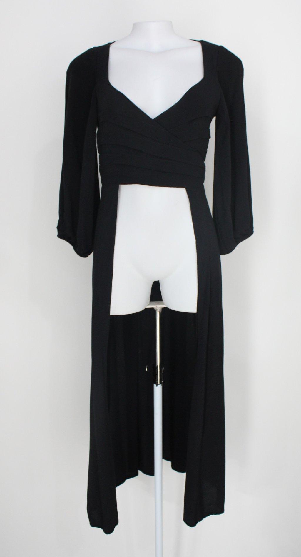 Kimono Nati Vozza Feminino Preto