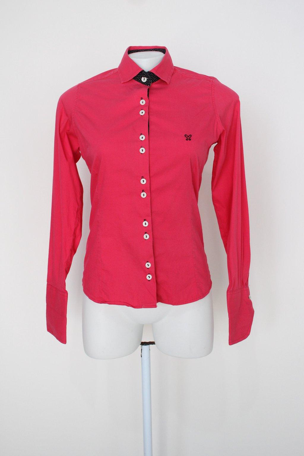 Camisa My Cris Camisaria Feminina Rosa