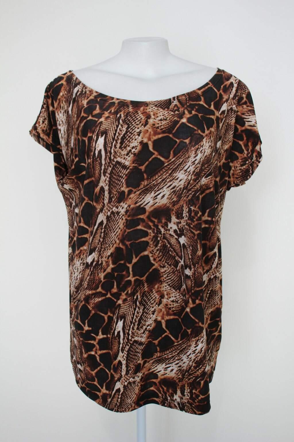 Blusa Feminina Estampada Animal Print