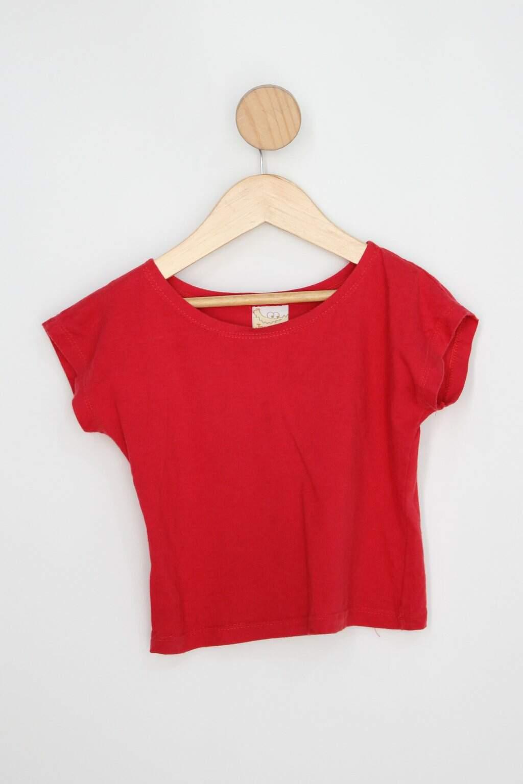 Camiseta Infantil Jaca-lélé Vermelha