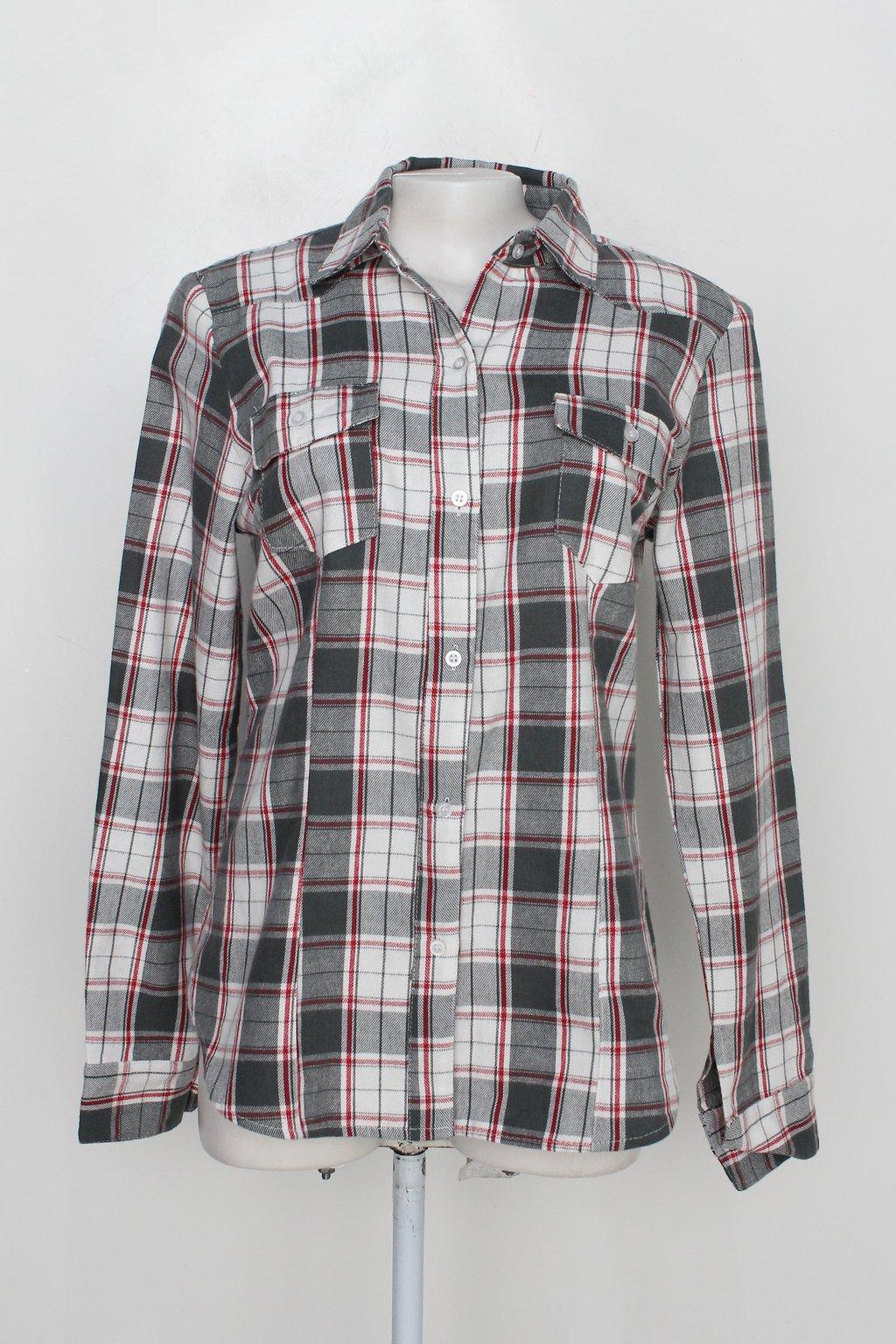 Camisa Dasael Feminina Xadrez