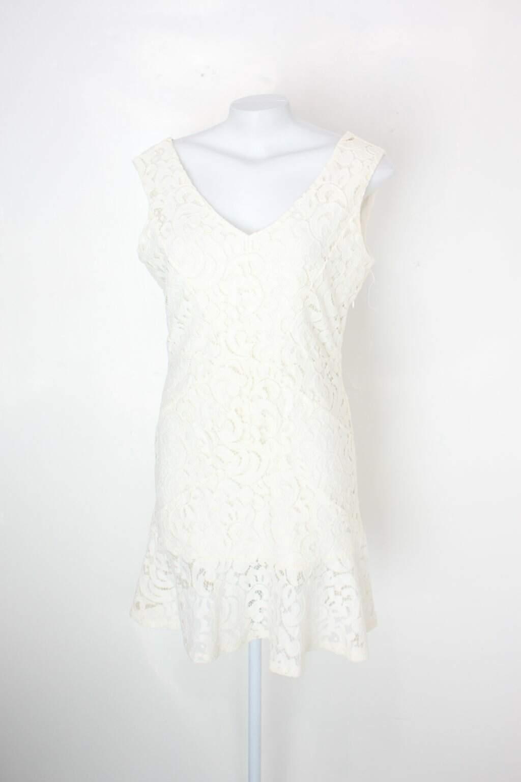 Vestido C&a Feminino Off-white
