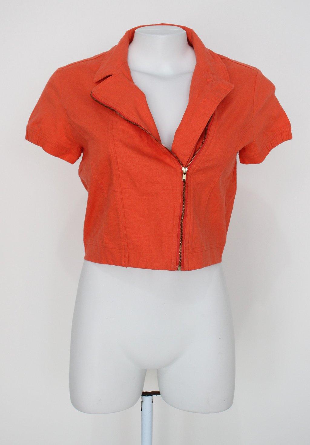 Camisa Mx Feminina Laranja