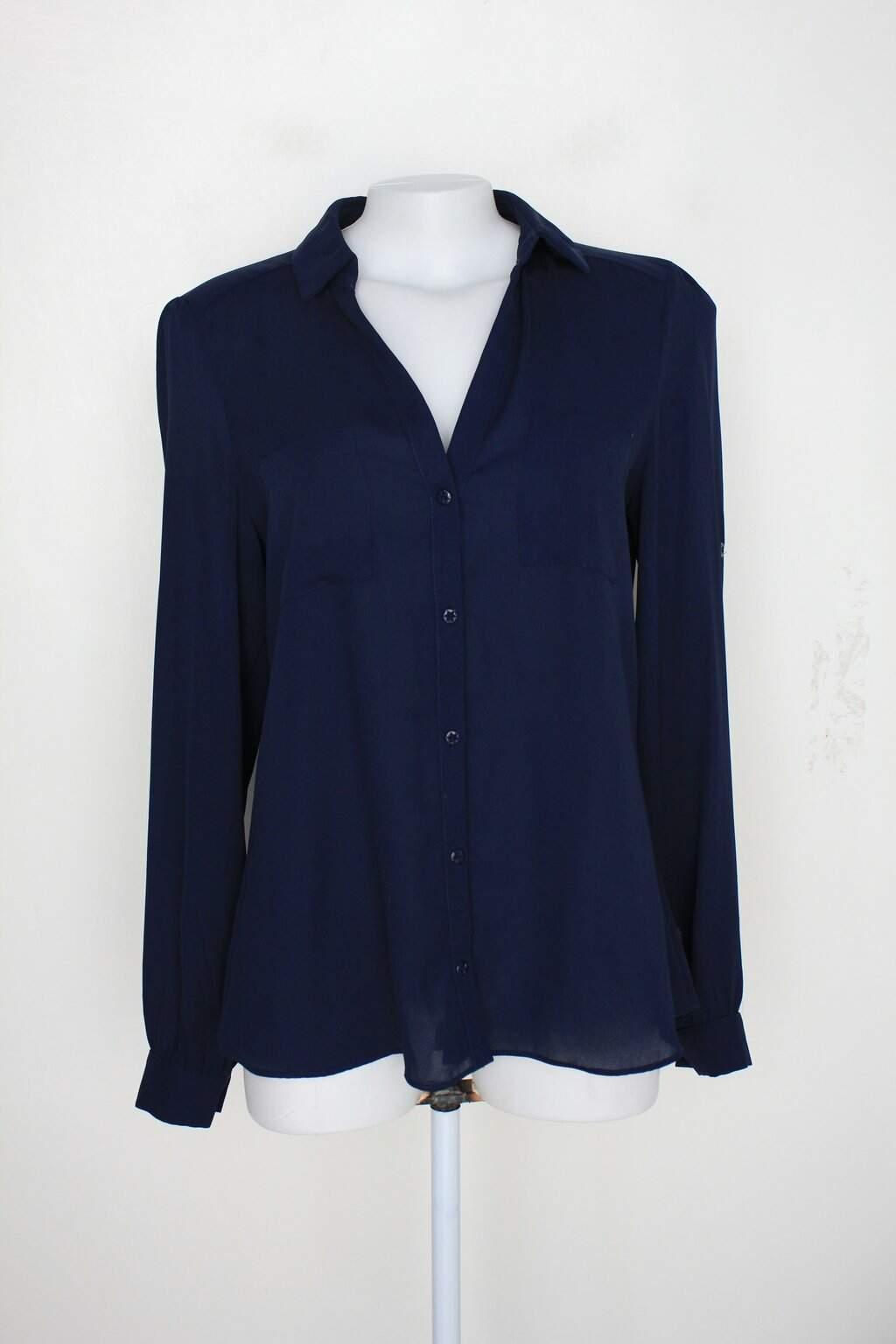 Camisa Signal Flag Feminina Azul
