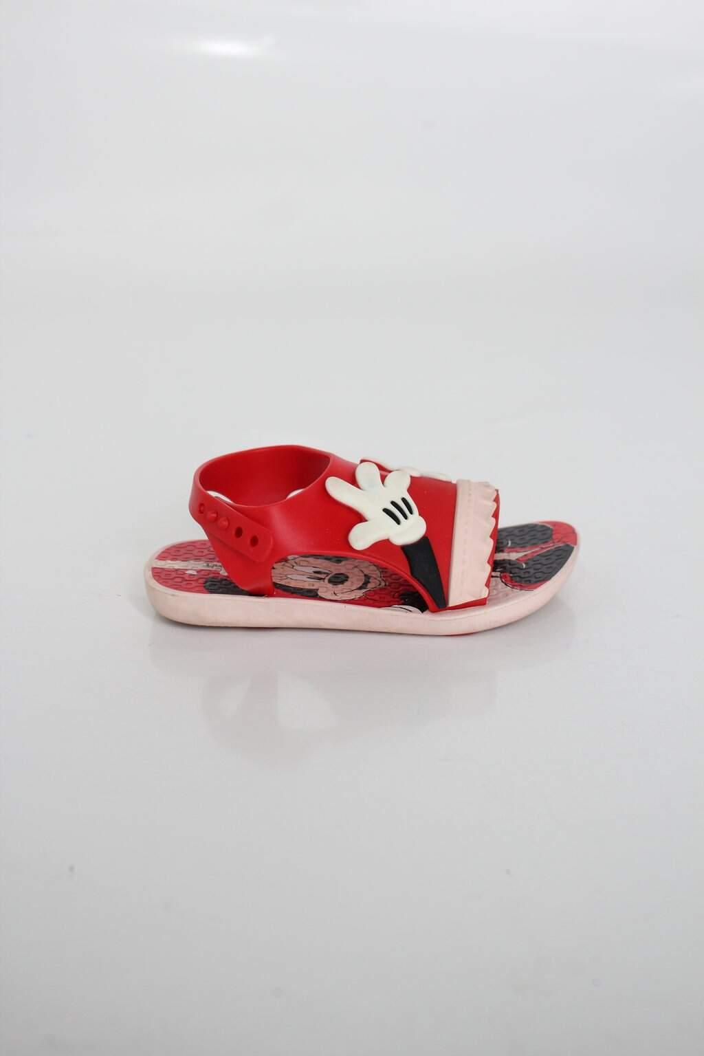 Sandália Infantil Ipanema Vermelha Estampada