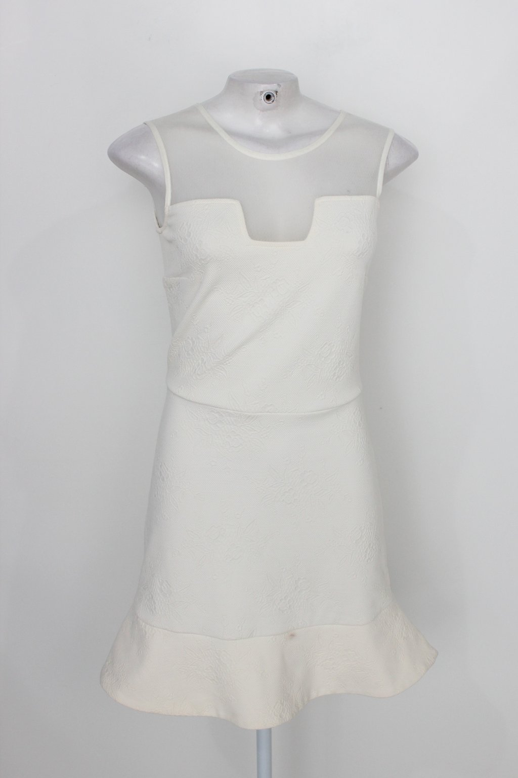 Vestido Practory Feminino Off-white