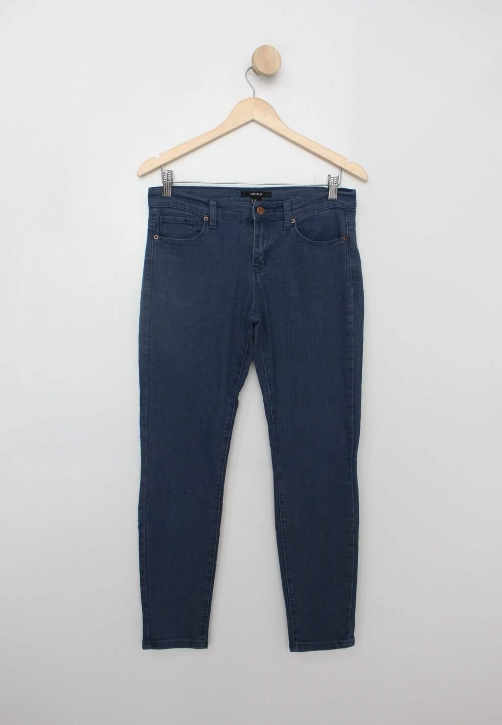 Calça Jeans Forever 21 Feminina Azul