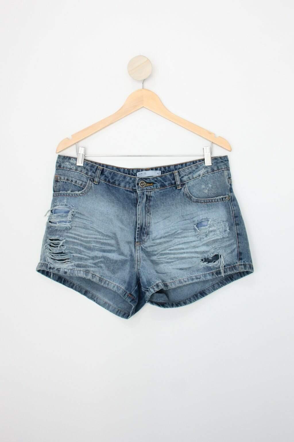 Shorts Renner Feminina Azul Jeans