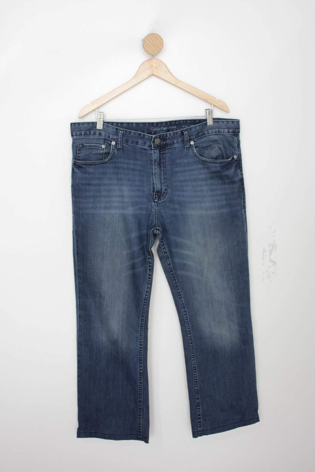 Calça Jeans Calvin Klein Masculina Azul