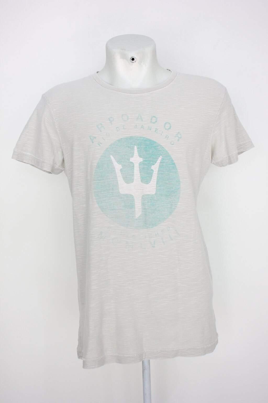 Camiseta Osklen Masculina Cinza