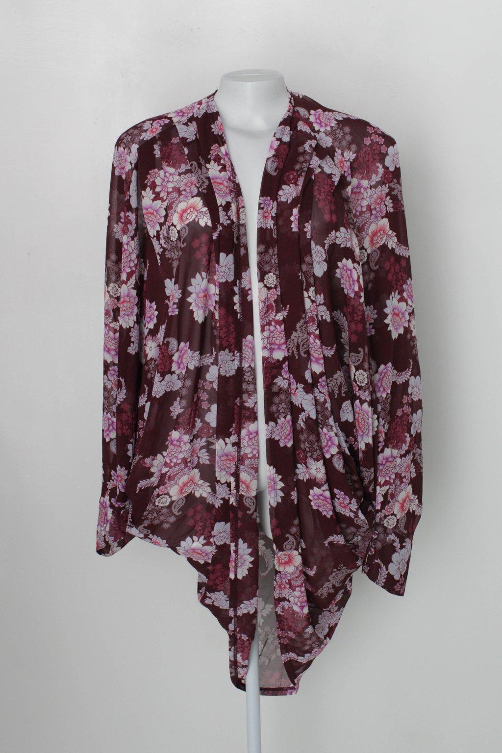 Kimono Forever 21 Feminino Estampado
