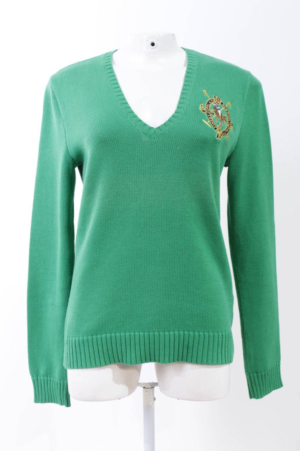Cupom Desconto Suéter Verde Ralph Lauren