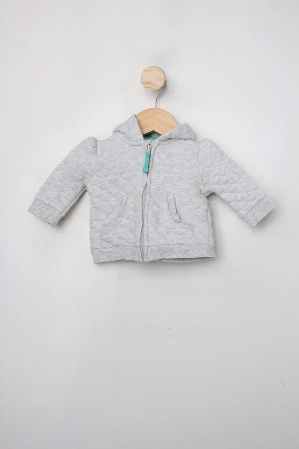 Jaqueta Infantil Baby Club Cinza