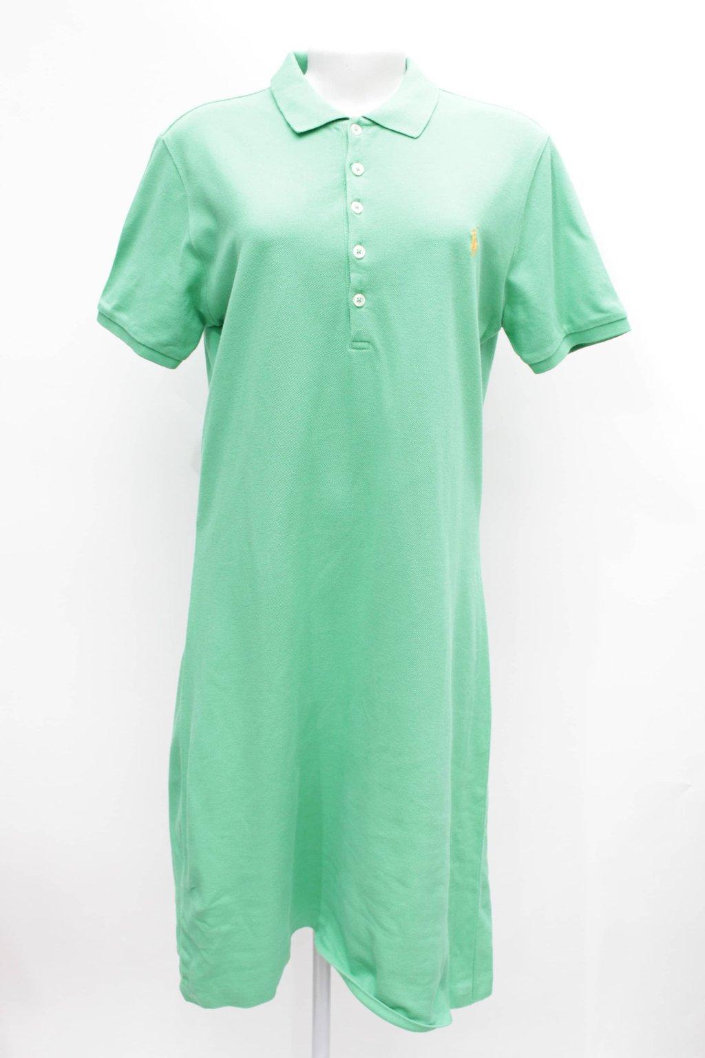 Vestido Polo Verde Ralph Lauren