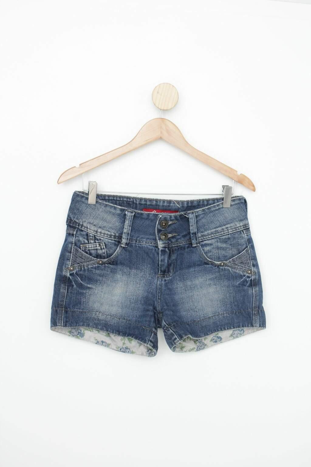 Shorts Brokker Feminina Azul