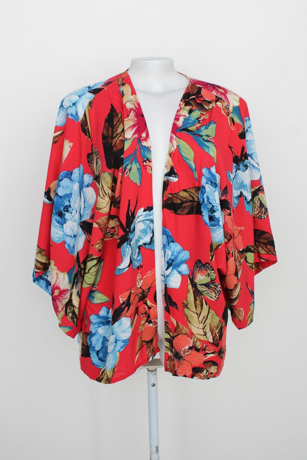 Kimono Carmensitas Feminino Estampado