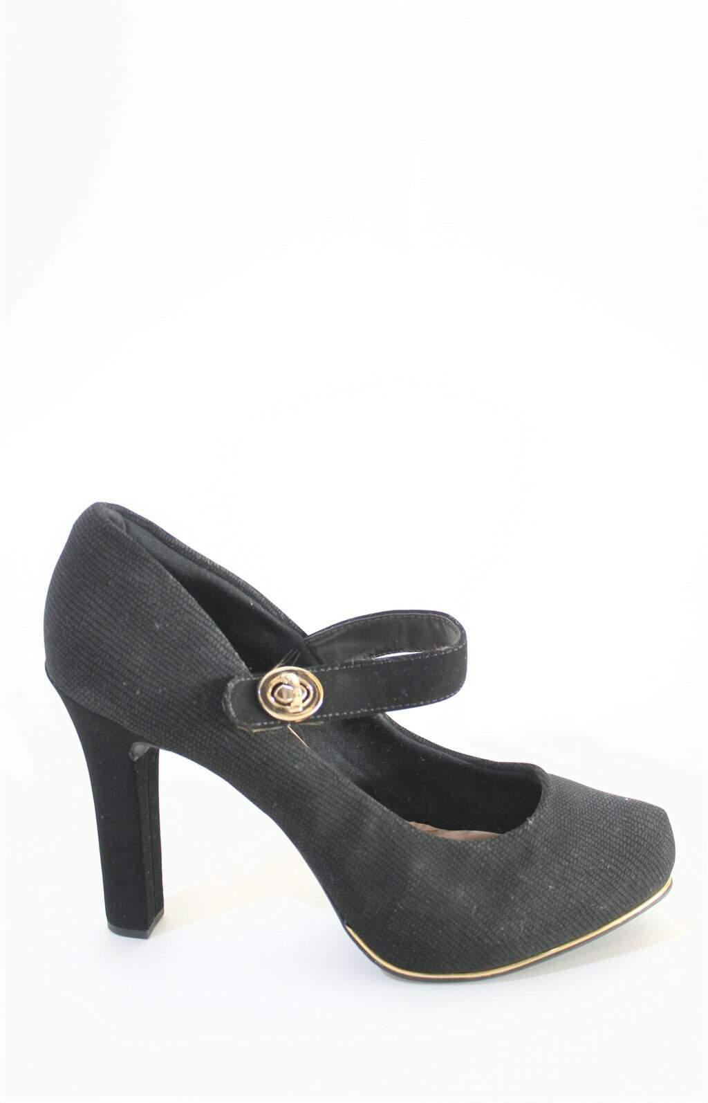 Sapato Preto Crysalis