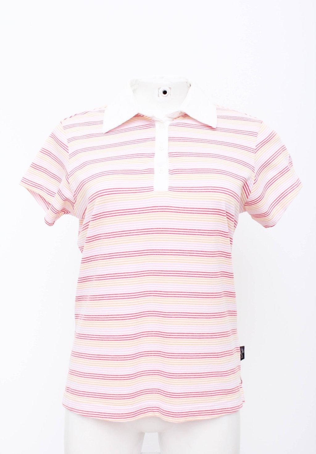 Camisa Polo Listras Adidas