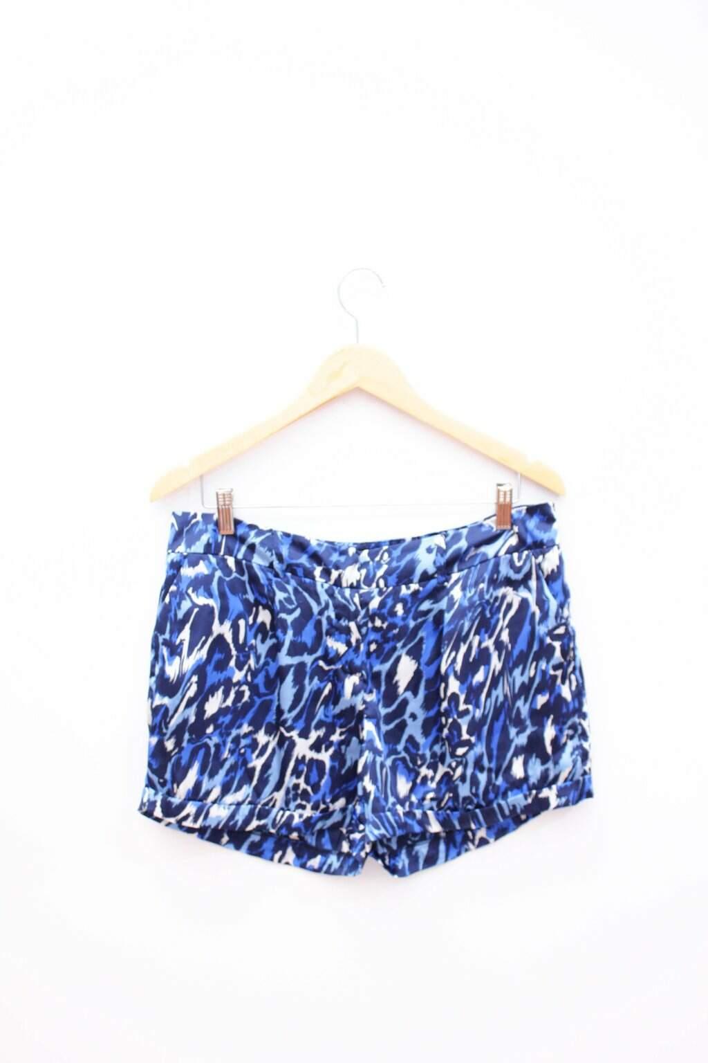 Shorts Animal Print Zara