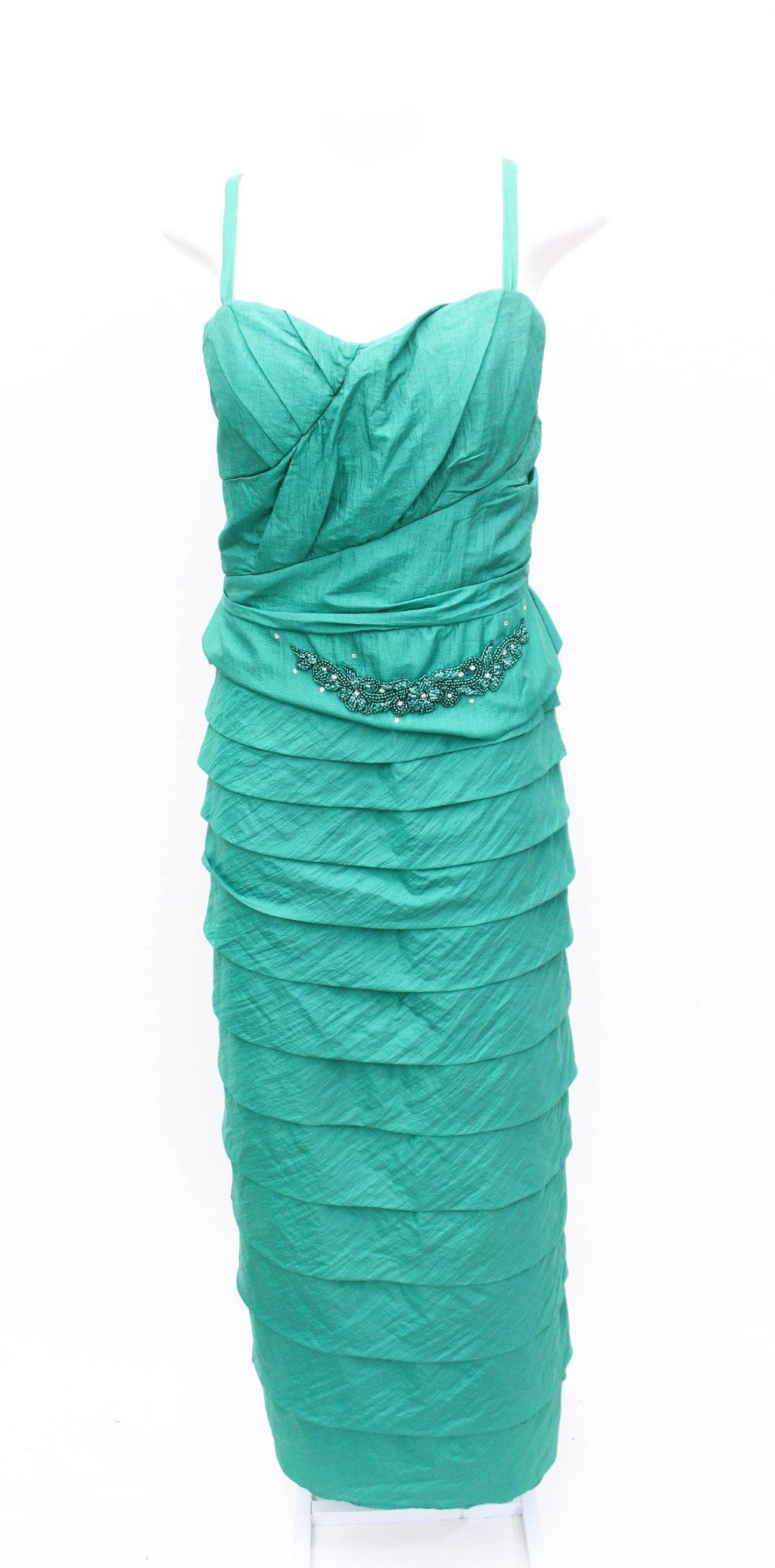 Oferta Vestido Verde Arte Sacra por R$ 365