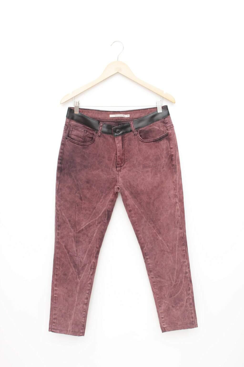 Calca Jeans Tie Dye Shoulder