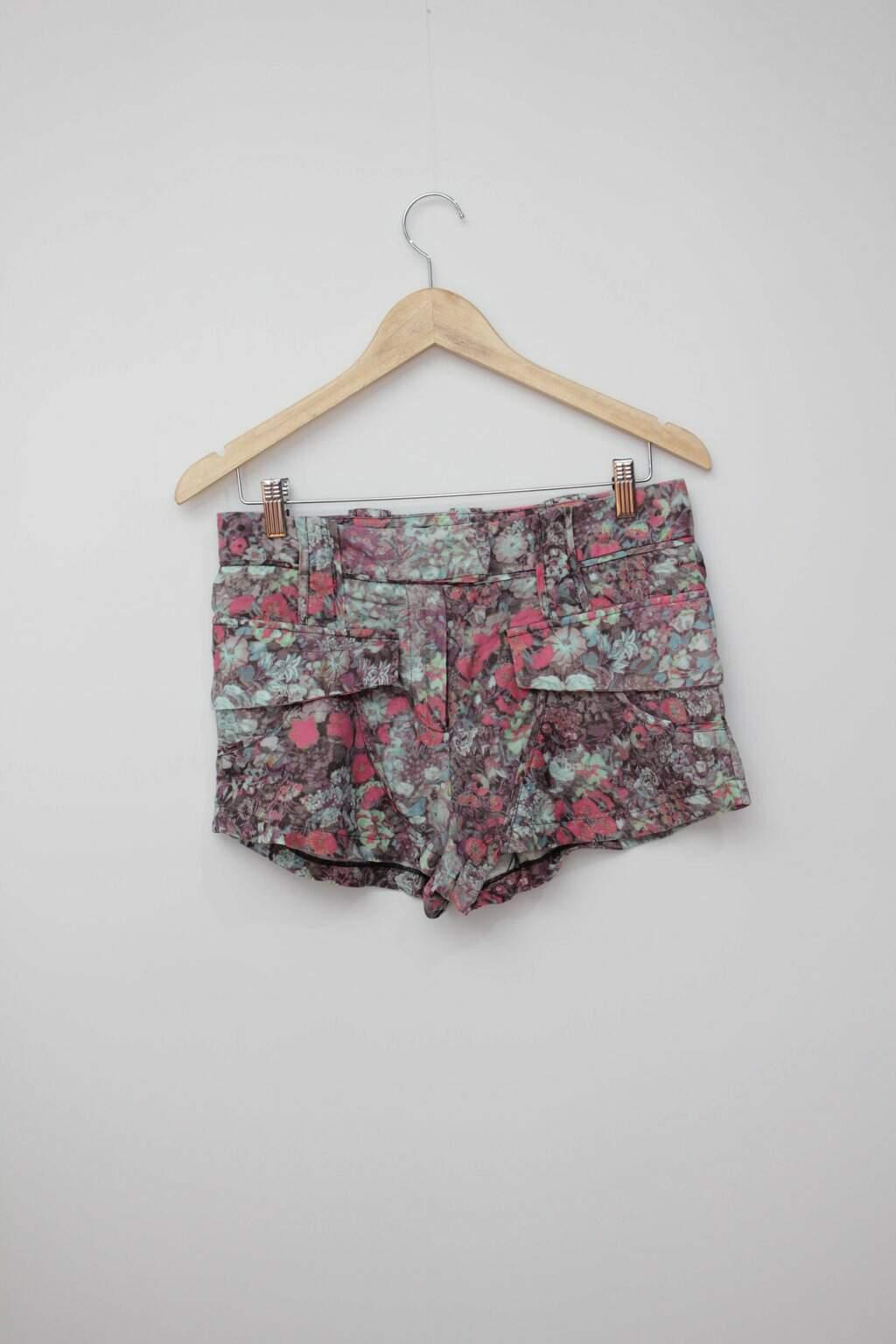 Shorts Floral Cris Barros