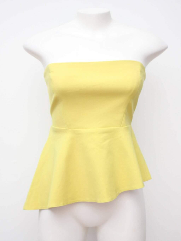 Blusa Tomara Que Caia Amarela Zara
