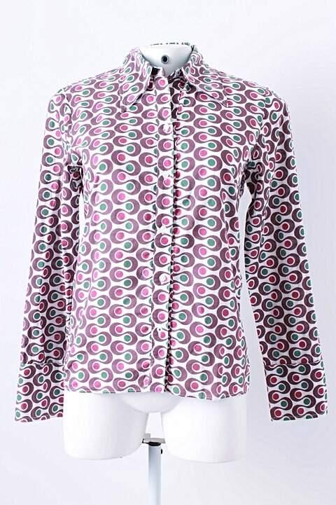 Camisa Estampa Curvilínea_foto principal