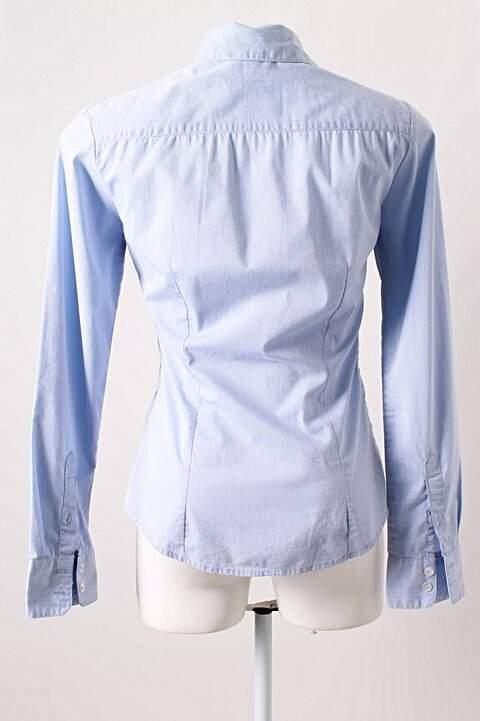 Camisa Azul H&M_foto de costas