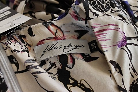 Vestido Luana Filhas de Gaia_foto da etiqueta