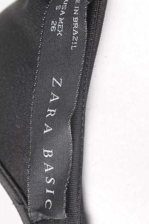 Vestido Evasê Zara_foto de detalhe