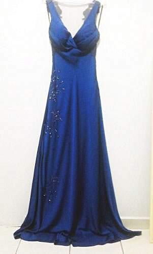 Vestido de Festa Azul_foto principal