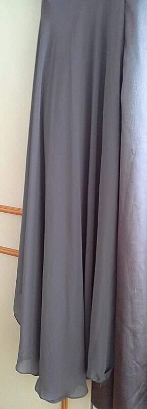 Vestido de Seda Silvia Bevilaqua_foto de detalhe