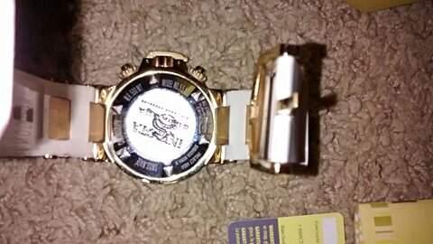 Relógio Invicta Masculino _foto de detalhe