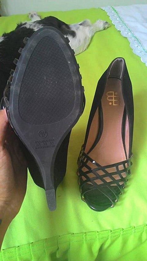 Sapato Preto Baeta_foto de frente