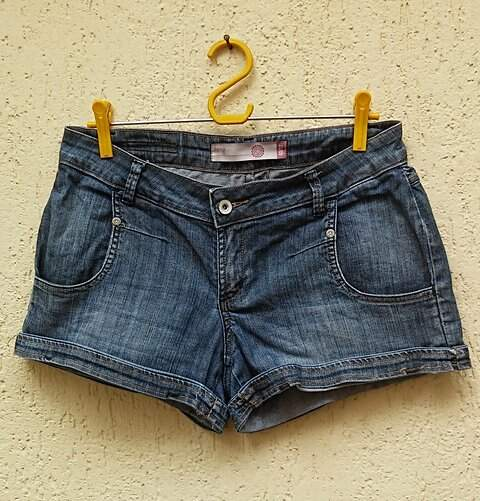 Shorts Jeans Hering _