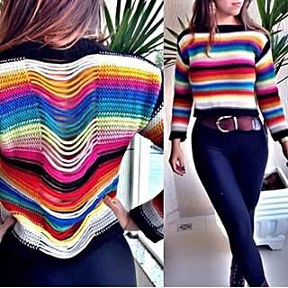 Blusa Tricot Colors _foto principal
