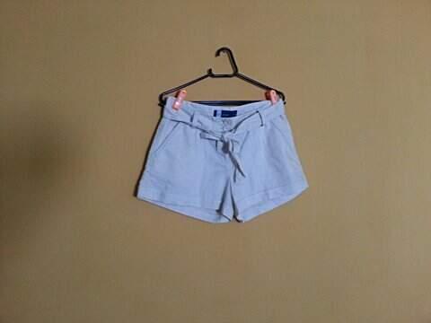 Shorts de Linho _foto de frente