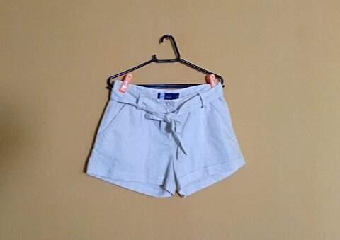 Shorts de Linho _foto principal