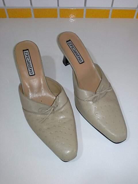 Sapato em Couro Nude_foto principal
